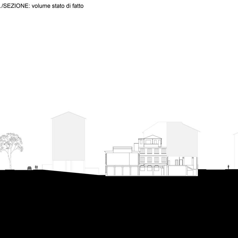 Urban Block - sezione SDF