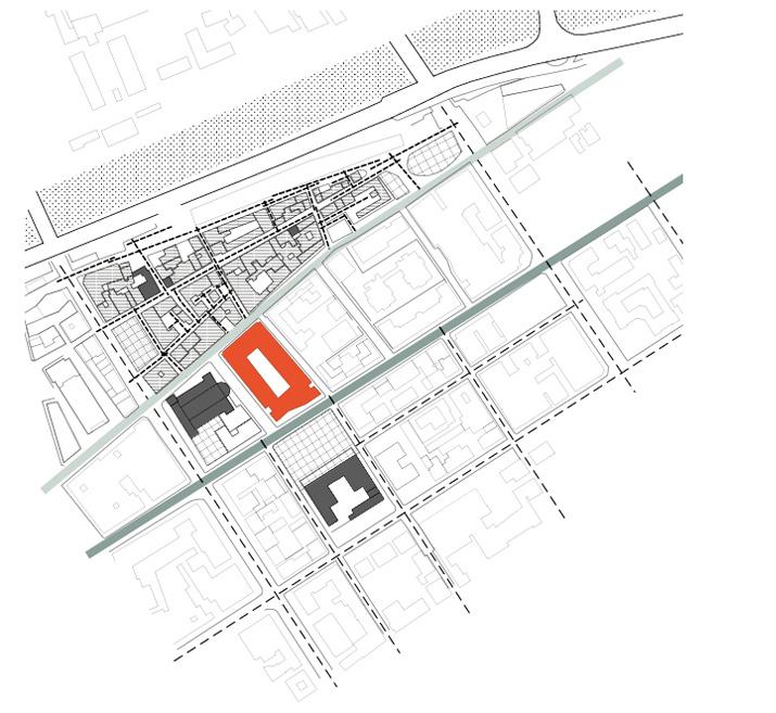 Palazzo Monti - inquadramento-urbano